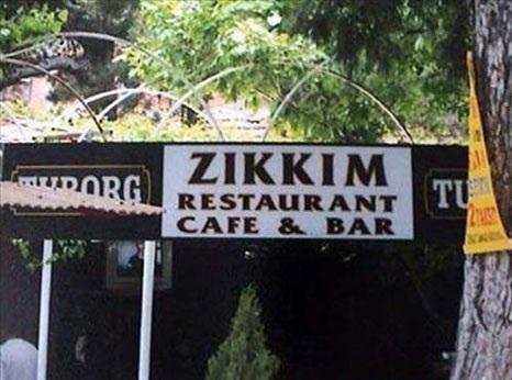 Als je wenst dat iemand in zijn eten stikt, dan zeg je 'Zikkim ye'. Eet smakelijk!
