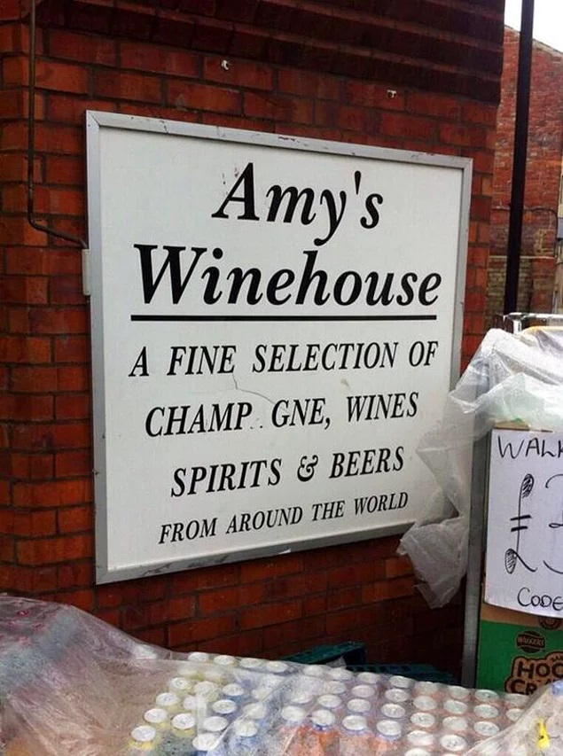 8. Amys Winehouse