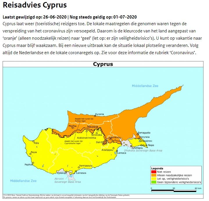 Cyprus, EU, Nederland, Turkije