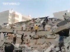 Aardbeving Turkije