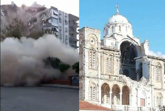 Griekenland Turkije aardbeving