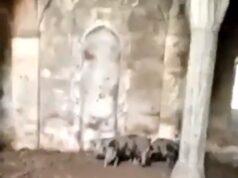 Een moskee in bevrijd Zengilan / Nagorno-Karabach