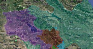 Een overzicht van de heroverde gebieden in Nagorno-Karabach