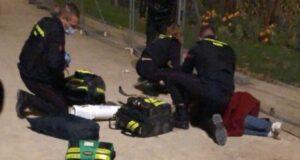 Slachtoffers van de aanval in Parijs krijgen eerste hulp