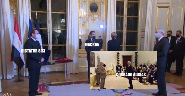Corrado Augias, Sisi, Macron