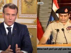 Macron Sisi